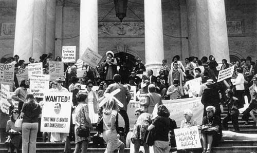 Impeachment Of Nixon at Rally to Impeach Nixon