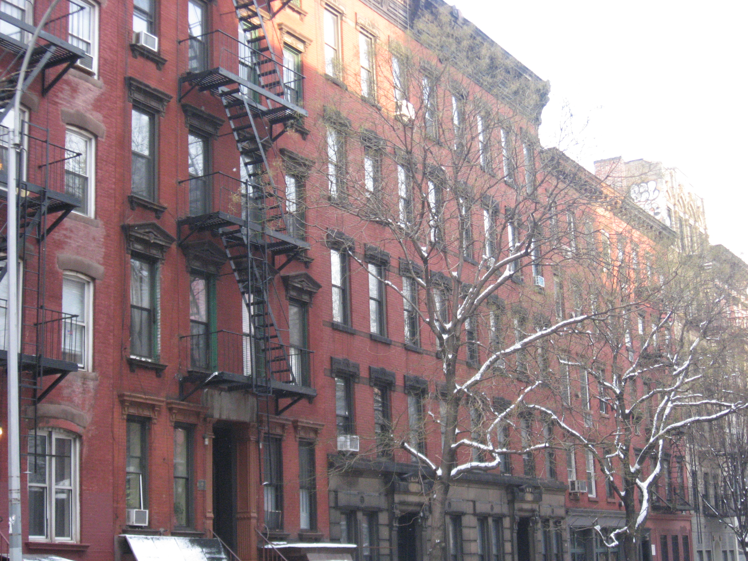 Photographs Of Tenement Houses On Orchard Street, New York City Pictures of tenement houses