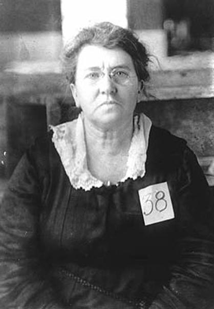 Emma Goldman's Deportation Portrait, 1919