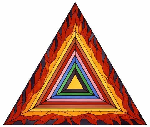 """Logo"" from the Holocaust Project by Judy Chicago, 1992"