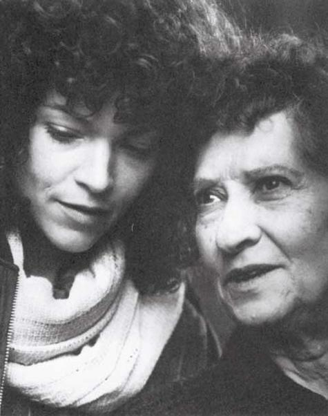 "Reizel Bozyk and Amy Irving in ""Crossing Delancey"""
