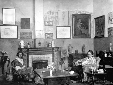 Gertrude Stein and Alice B. Toklas in Paris, 1923
