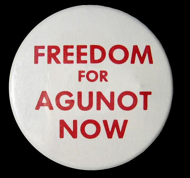 """Freedom for Agunot Now"" Pin"