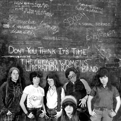 Chicago Women's Liberation Union rock band photo