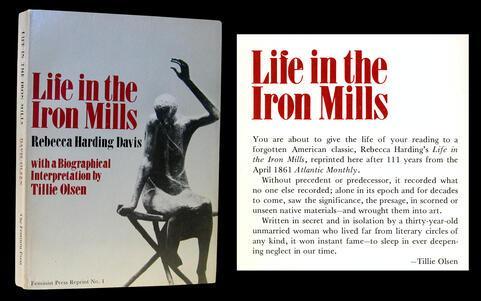 essay analysis story life iron mills rebecca harding davis