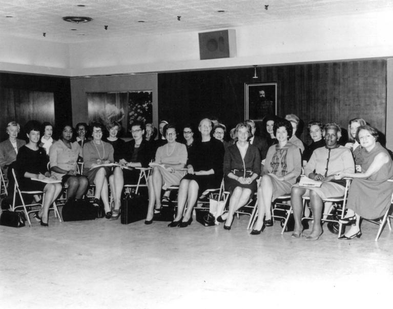 Photograph of the Founders of the National Organization for Women (NOW)