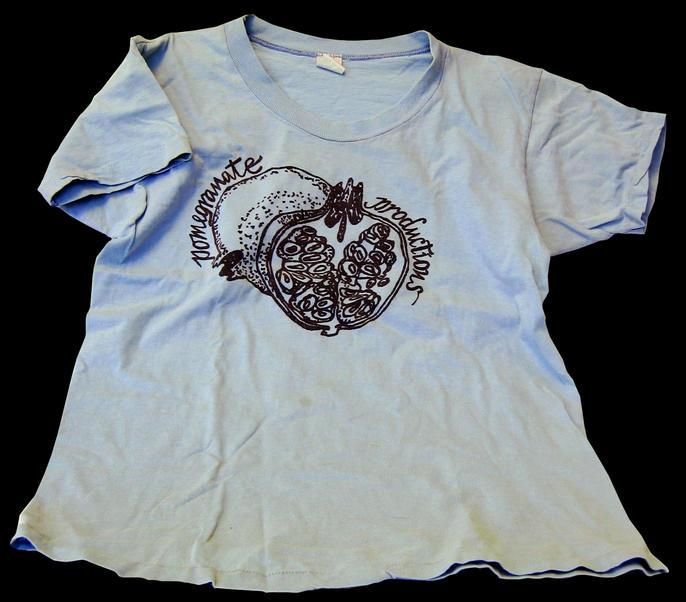 Pomegranate Productions T-shirt circa 1970s