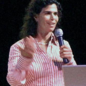 Yael Arad speaking