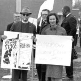 Jacqueline Levine, Selma to Montgomery March