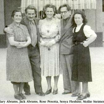 Rose Pesotta and Friends in Mexico, circa 1930s