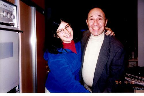 Amanda Koppelman-Milstein and her Grandfather