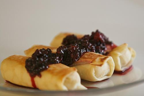 Three Blintzes