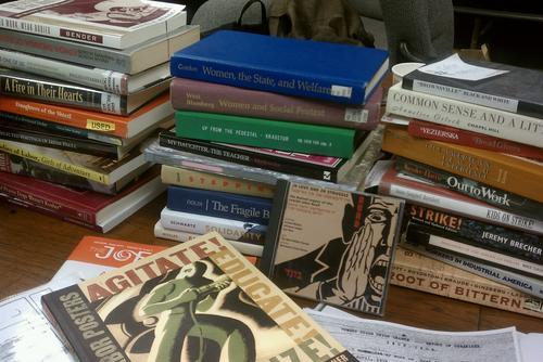 Books on a Desk