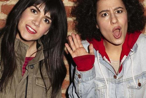 Abbi Jacobson and Ilana Glazer cropped
