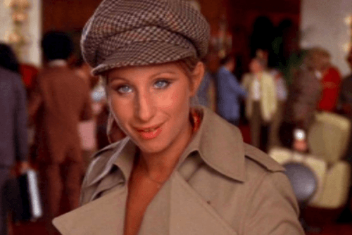 Barbra Streisand in What's Up, Doc?