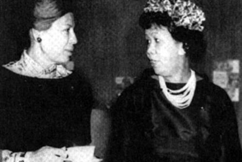Polly Cowan and Dorothy I. Height, 1964