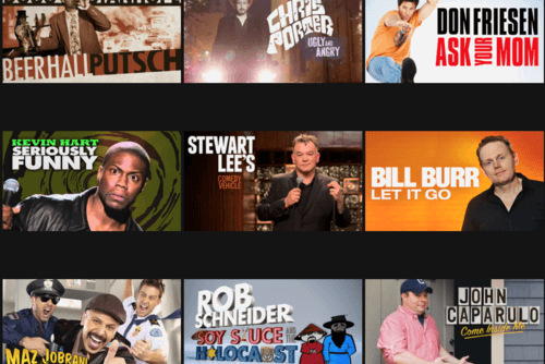 A Sampling of Netflix's Stand-up Comedy Offerings