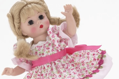 Madame Alexander Doll Cropped
