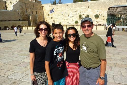 Eden Marcus Family in Israel