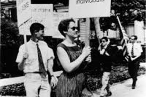 LGBT Rights Protest at Independence Hall, 1965