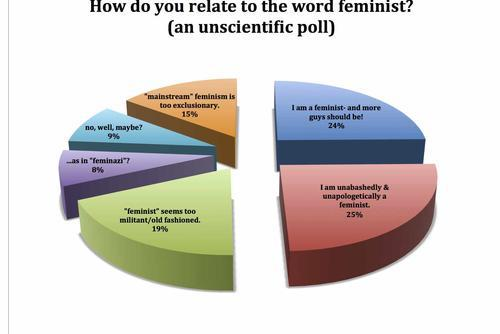 Are You a Feminist?: An Unscientific Social Media Poll and Graph by JWA