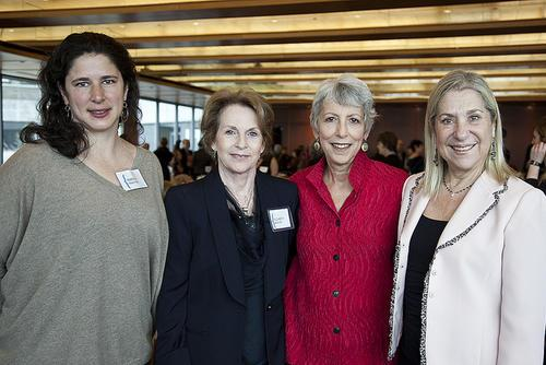 Gail T. Reimer with Making Trouble/Making History Honorees, March 18, 2012