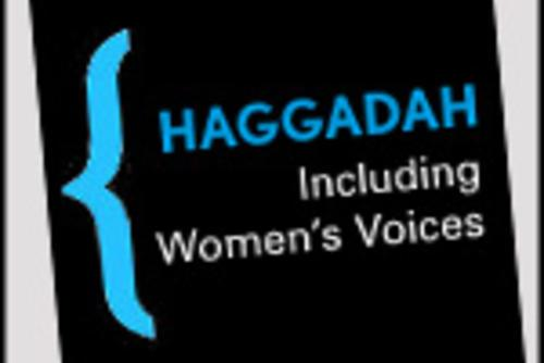 """The Wandering is Over Haggadah, Including Women's Stories"" Logo"