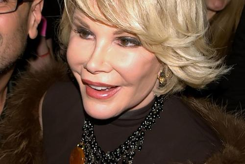 Joan Rivers, New York City, 2010