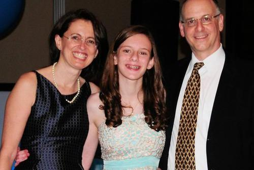 2016-2017 Rising Voices Fellow Katy Ronkin at her Bat Mitzvah