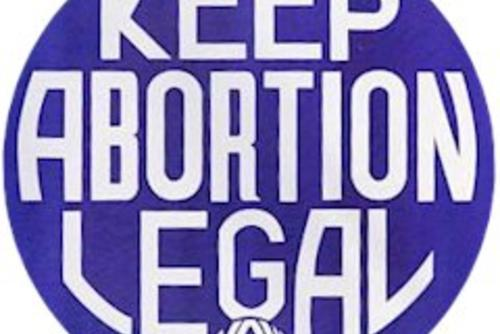 Keep Abortion Legal Button