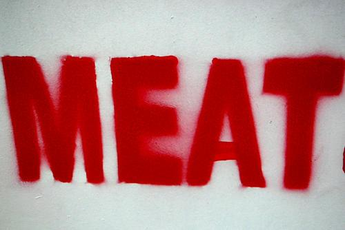 MEAT found on Flickr (CC), by Sumlin