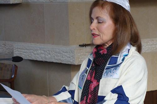 Rebecca Lubetkin celebrating 60th Bat Mitzvah anniversary