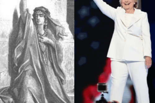 Prophet and Hillary Image, 2016