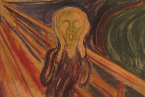 """The Scream,"" by Edward Munch"