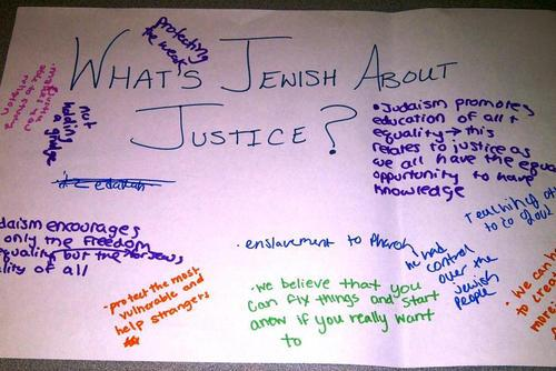 """What's Jewish About Justice?"" Educational Activity, 2012"