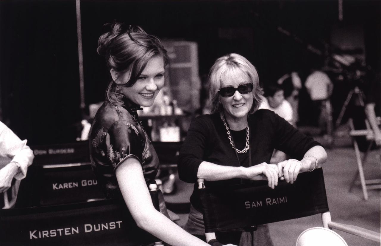 Laura Ziskin and Kirsten Dunst