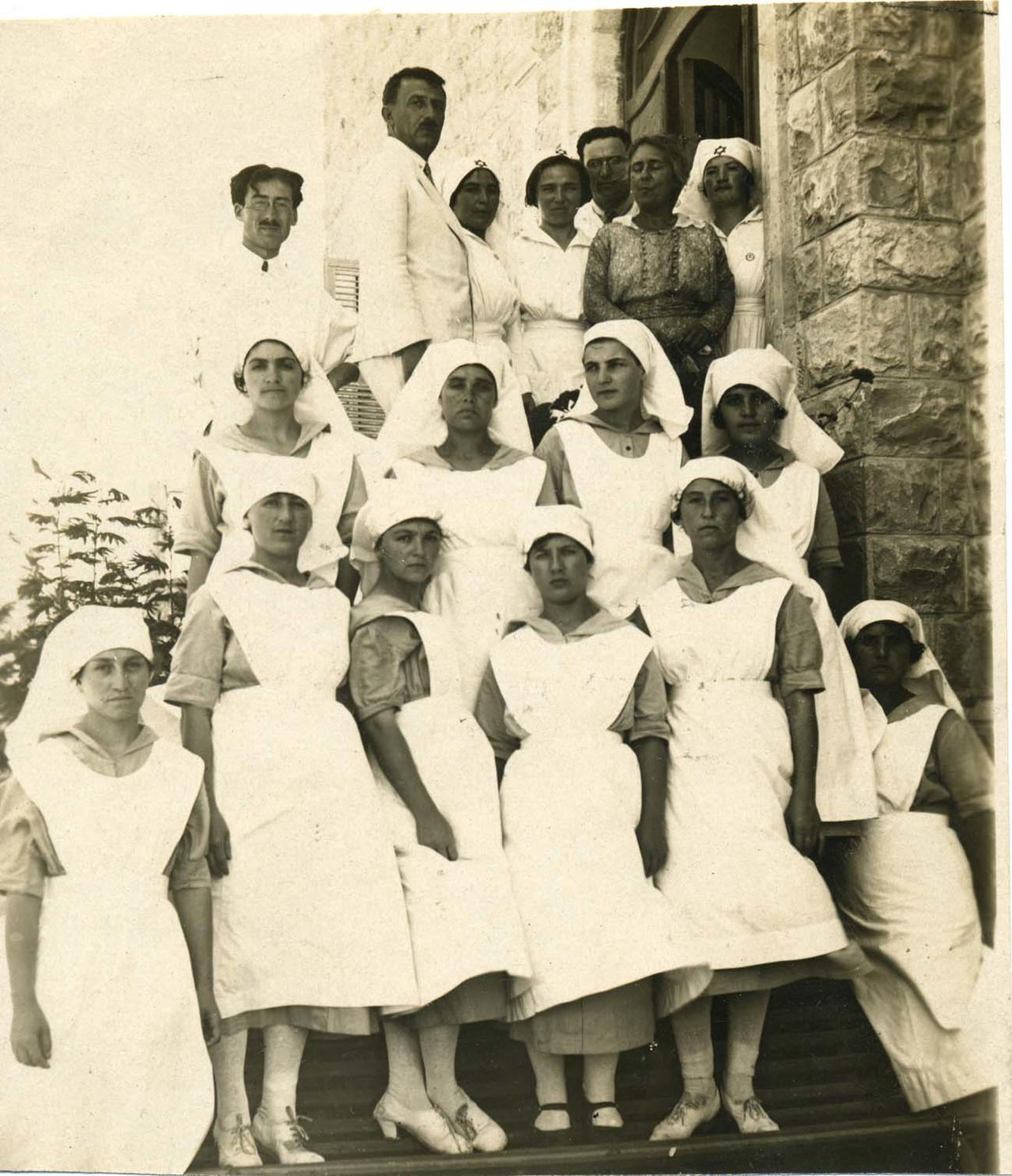 Henrietta Szold and Nurses in Haifa