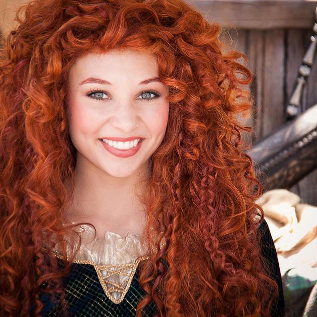 "Princess Merida from Disney/Pixar's ""Brave"""