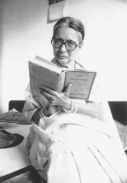 Esther Solomon in Amhedehad, India