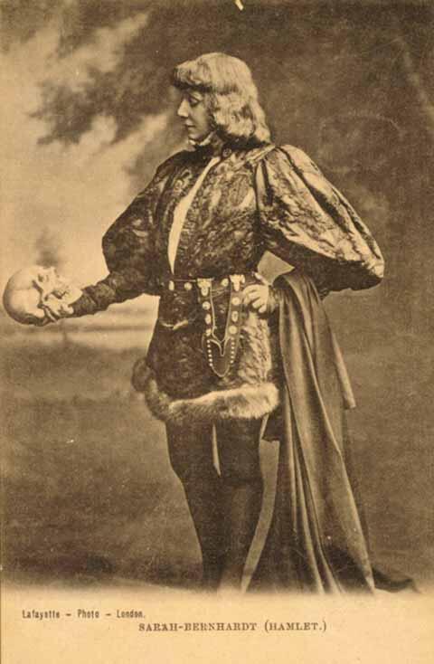 Sarah Bernhardt, circa 1890