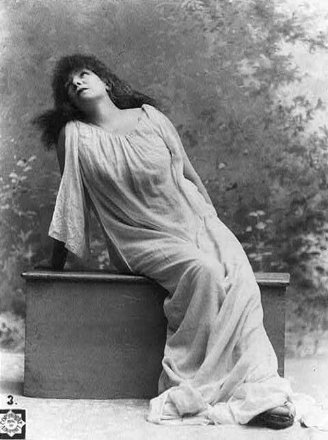 Sarah Bernhardt, 1896