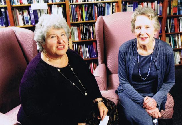 Carla Cohen and Barbara Meade