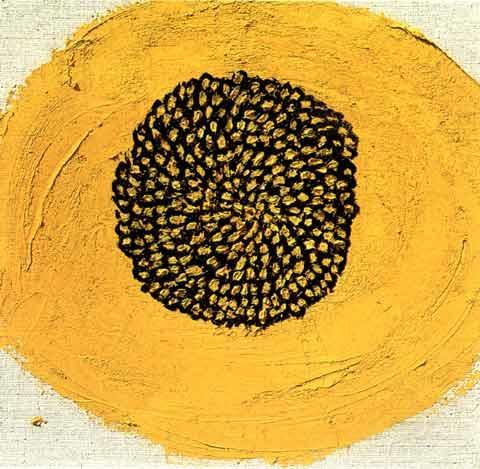 """Sunflower Heart"" by Maya Cohen-Levy, 1992"