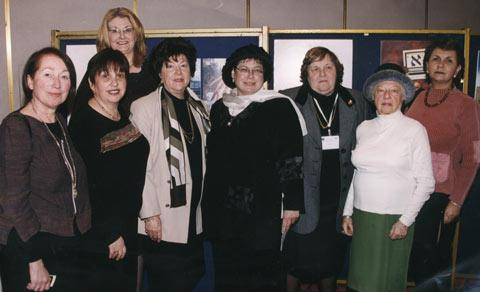 Leaders of World Emunah at 2003 Congress