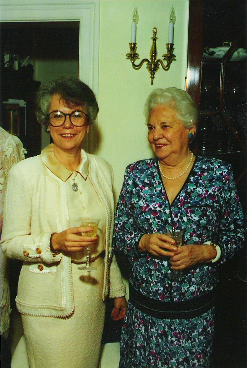 Elsie Frank with daughter Ann Lewis
