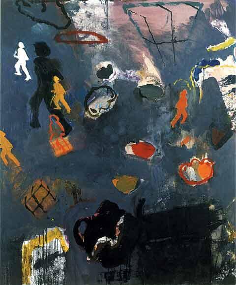 """Running Away"" by Nora Frenkel, 1992"