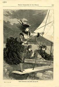 Women Ice Sailing