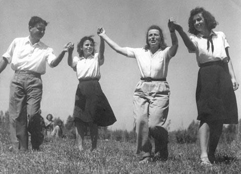 Gurit Kadman and the First Israeli Folkdance Leadership Course in Tel Aviv, 1945