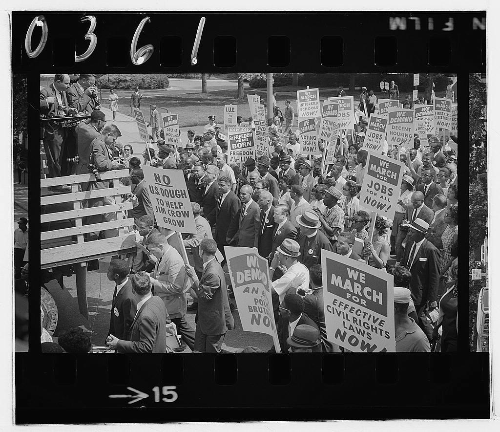 March on Washington - photographers documenting the marchers