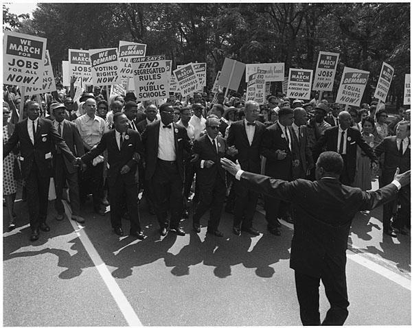 Civil Rights March on Washington, August 28, 1963